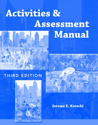 Activities and Assessment Manual  3rd 2011 (Revised) 9780763793876 Front Cover