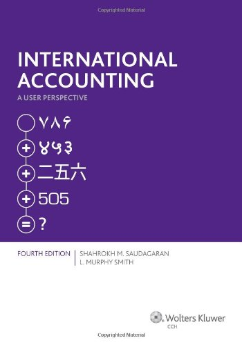 International Accounting A User Perspective ( Fourth Edition ) N/A edition cover