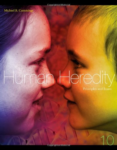 Human Heredity Principles and Issues 10th 2014 9781133106876 Front Cover