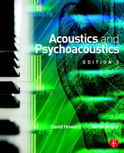 Acoustics and Psychoacoustics  5th 2017 (Revised) 9781138859876 Front Cover