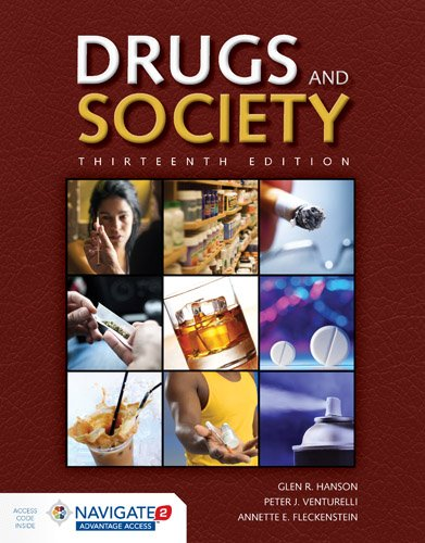 Drugs & Society + Advantage Access:   2017 9781284110876 Front Cover