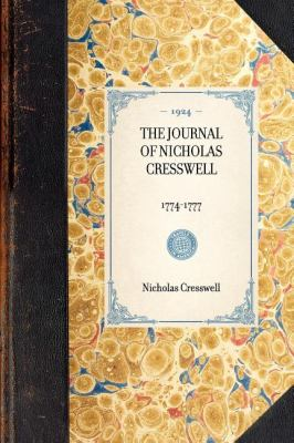 Journal of Nicholas Cresswell, 1774-1777  N/A edition cover