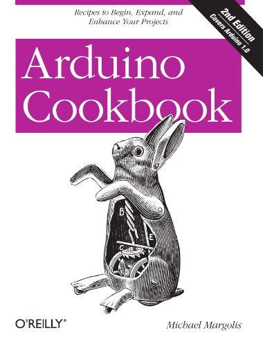 Arduino Cookbook  2nd 2011 edition cover