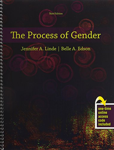 The Process of Gender:   2014 edition cover