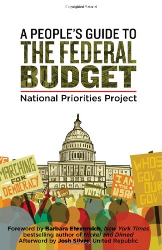 People's Guide to the Federal Budget   2012 edition cover