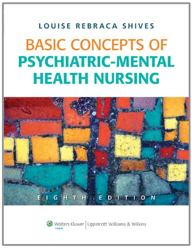Basic Concepts of Psychiatric-Mental Health Nursing  8th 2012 (Revised) edition cover