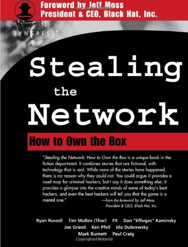 Stealing the Network How to Own the Box  2003 edition cover