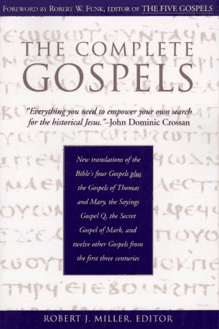 Complete Gospels  Annotated 9780060655877 Front Cover