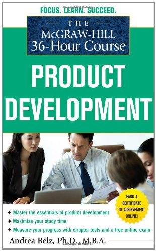 Mcgraw-Hill 36-Hour Course Product Development   2011 edition cover