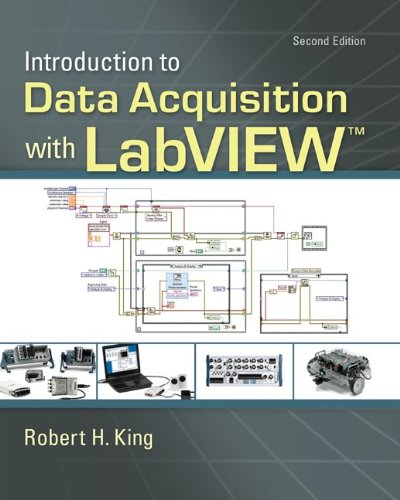 Introduction to Data Acquisition with LabView  2nd 2013 edition cover
