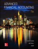 Advanced Financial Accounting  11th 2016 edition cover