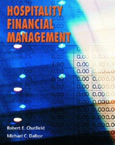 Hospitality Financial Management   2005 edition cover