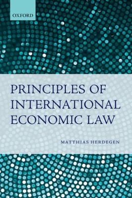 Principles of International Economic Law   2012 edition cover