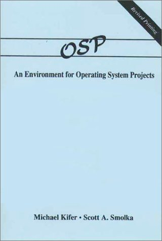 Osp An Environment for Operating System Projects  1991 edition cover