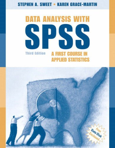 Data Analysis with SPSS A First Course in Applied Statistics 3rd 2008 (Revised) edition cover