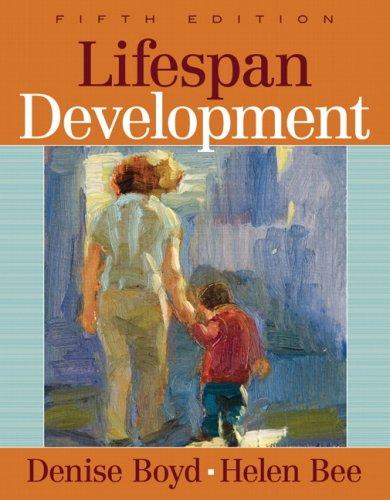 Lifespan Development  5th 2009 edition cover