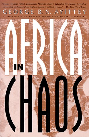 Africa in Chaos A Comparative History  1999 (Revised) edition cover