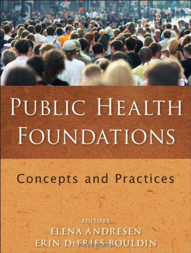 Public Health Foundations Concepts and Practices  2010 edition cover