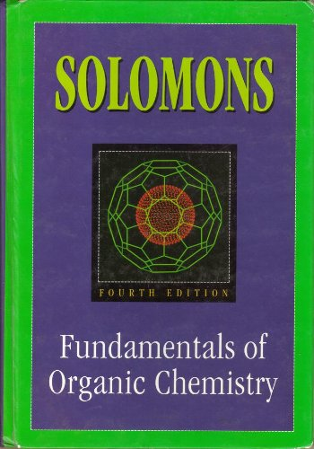 Fundamentals of Organic Chemistry  4th 1994 9780471589877 Front Cover