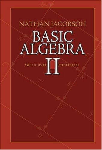 Basic Algebra II  2nd 2009 edition cover