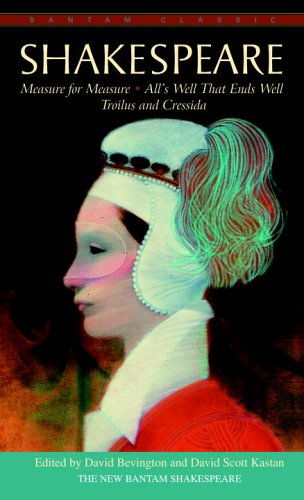 Shakespeare Measure for Measure, All's Well That Ends Well, Troilus and Cressida N/A 9780553212877 Front Cover