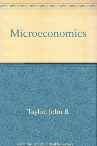 Microeconomics with Guide to Microeconomics Passkey 3nd Edition Plus Study Guide 5th 2007 9780618805877 Front Cover