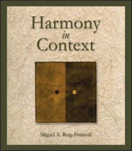 Harmony in Context   2003 edition cover