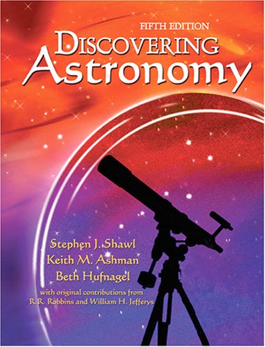 Discovering Astronomy  5th 2006 (Revised) 9780757517877 Front Cover