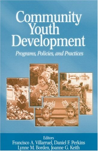 Community Youth Development Programs, Policies, and Practices  2003 edition cover