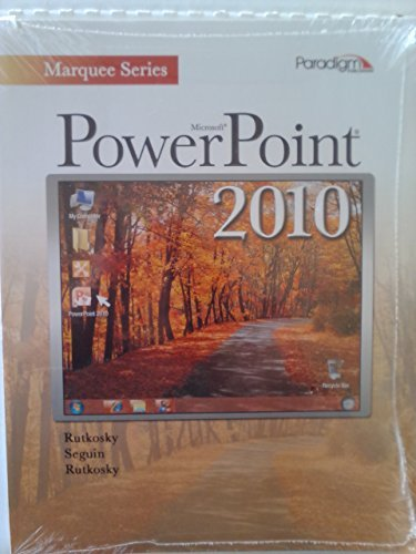 Microsoft�PowerPoint 2010 Text with Data Files CD Marquee Series N/A 9780763837877 Front Cover