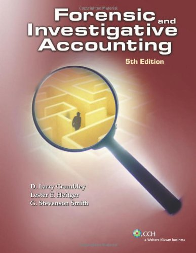 Forensic and Investigative Accounting  5th 2011 edition cover