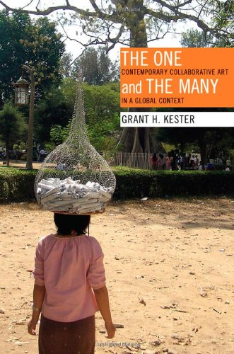 One and the Many Contemporary Collaborative Art in a Global Context  2011 edition cover