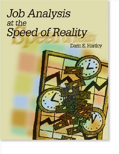 Job Analysis at the Speed of Reality  1999 edition cover
