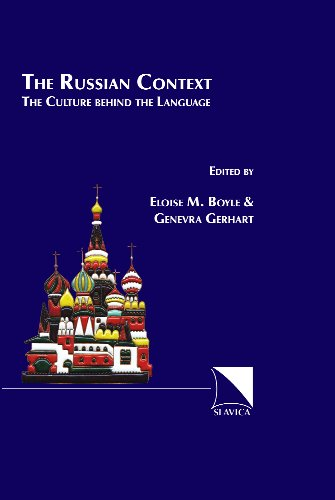 Russian Context : The Context Behind the Language 1st 2002 edition cover