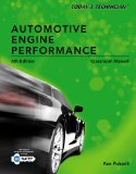 Today's Technician Automotive Engine Performance Classroom Manual 6th 2014 edition cover