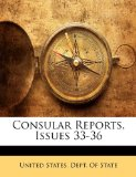 Consular Reports, Issues 33-36  N/A edition cover