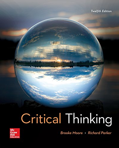 Critical Thinking  12th 2017 9781259690877 Front Cover