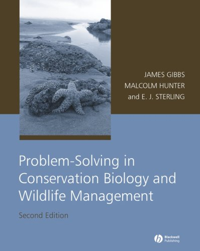 Problem-Solving in Conservation Biology and Wildlife Management  2nd 2008 (Revised) edition cover