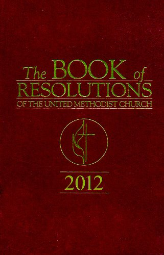 Book of Resolutions 2012:   2013 9781426757877 Front Cover