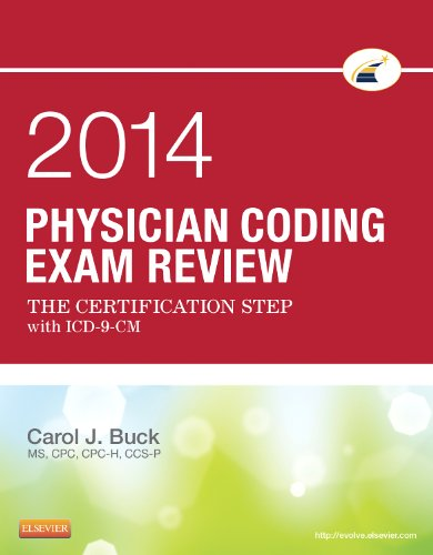Physician Coding Exam Review 2014 The Certification Step with ICD-9-CM  2014 edition cover