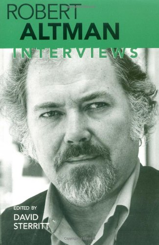 Robert Altman Interviews  2000 edition cover