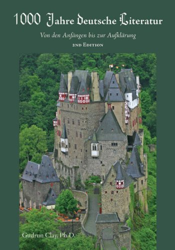 1,000 Years of German Literature  2nd (Revised) edition cover