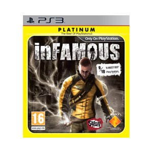 inFamous - Platinum Edition (PS3) PlayStation 3 artwork