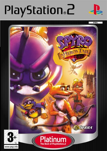 Spyro: A Hero's Tail (PS2) by Sierra UK PlayStation2 artwork