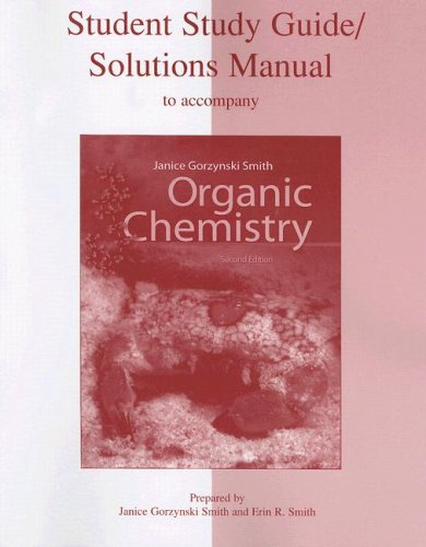 Organic Chemistry  2nd 2008 (Student Manual, Study Guide, etc.) edition cover
