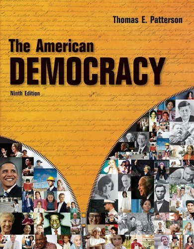 American Democracy  9th 2009 edition cover