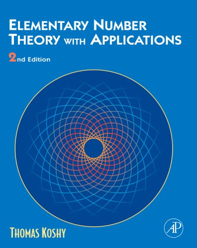 Elementary Number Theory with Applications  2nd 2007 edition cover