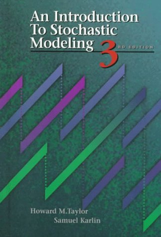 Introduction to Stochastic Modeling  3rd 1998 (Revised) edition cover