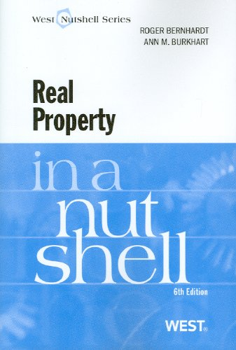 Real Property  6th 2010 (Revised) edition cover