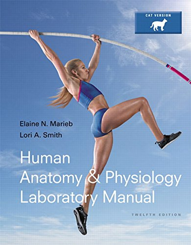 Human Anatomy & Physiology + Mastering A&P With Etext: Cat Version  2015 edition cover